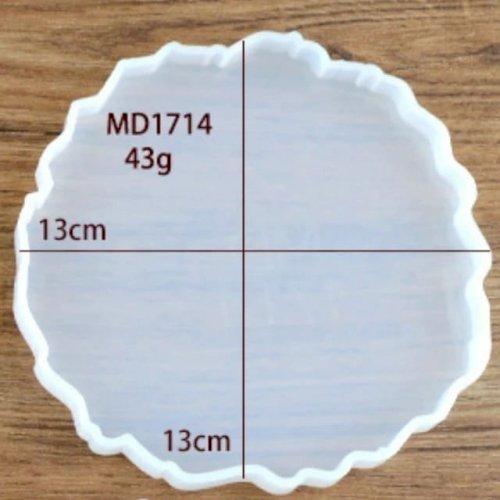 Mold MD1714 Coaster