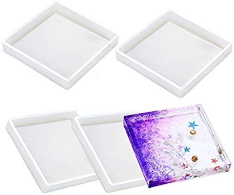 Square Coaster Mold with edge