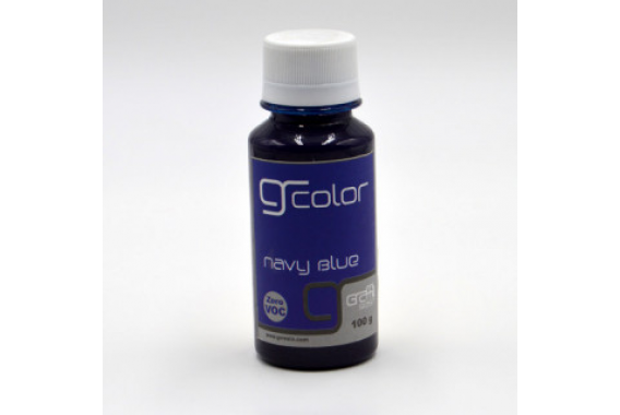 Resin Color Navy Blue