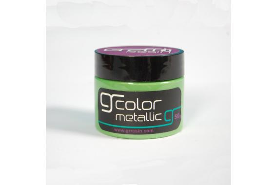 Metallic Grass Green