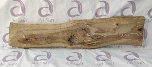 Indonesian Teak Wood Slab