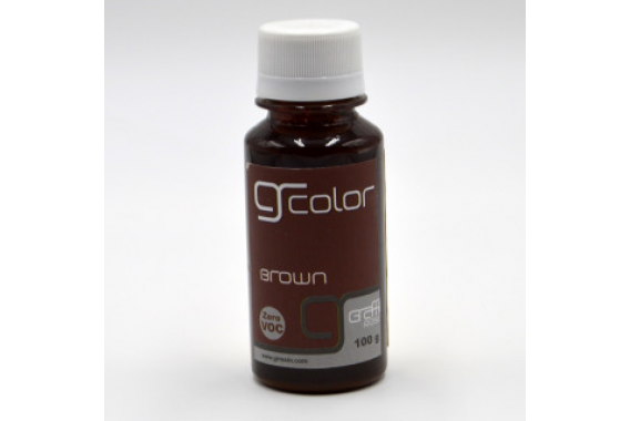 Resin Color Brown