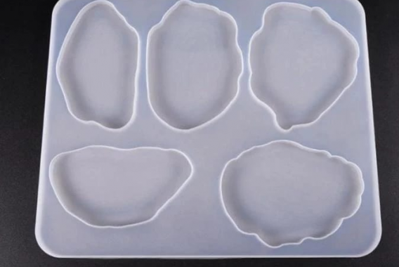 Geode Mold 5 Shapes