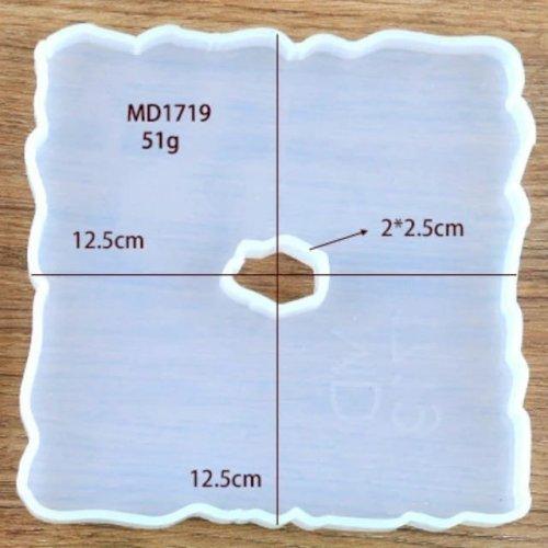 Mold MD1719 Coaster