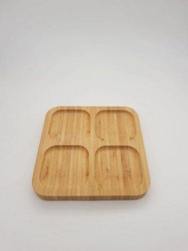 Bamboo Tray 14*14cm