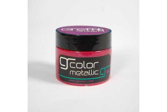 Metallic Red Purple