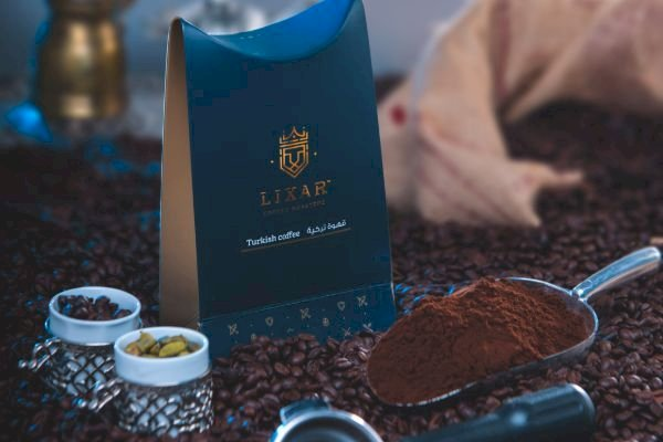 Dark Turkish Coffee with Cardamom