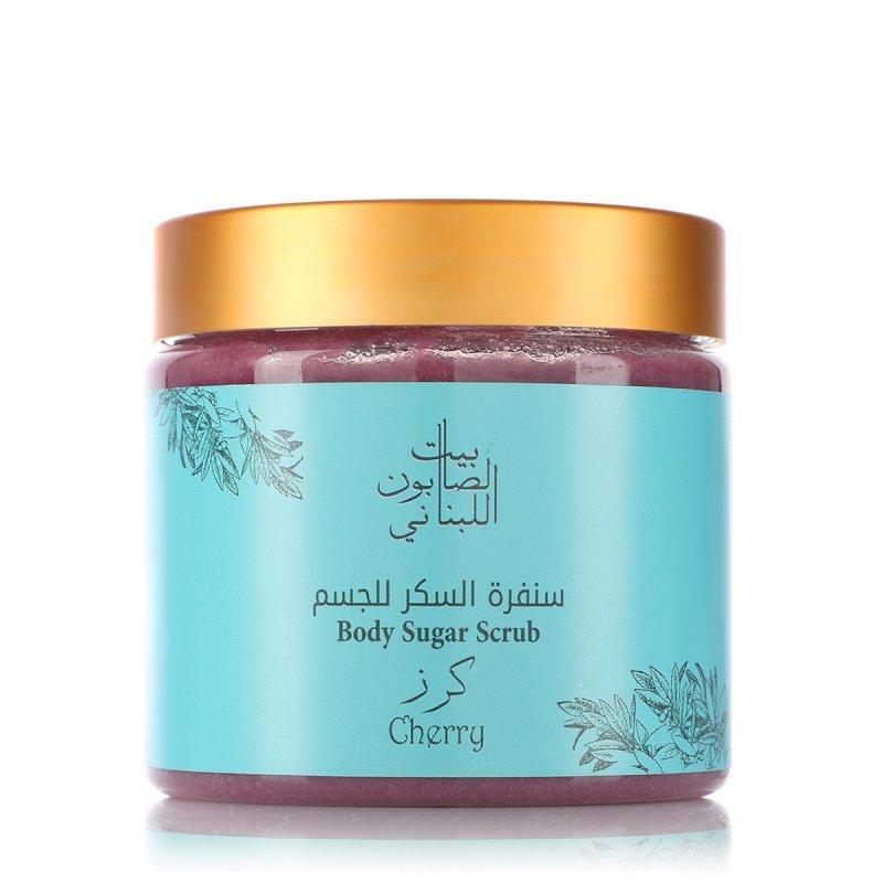 Bayt alsaboun alloubnani- Cherry body Sugar Scrub 500g
