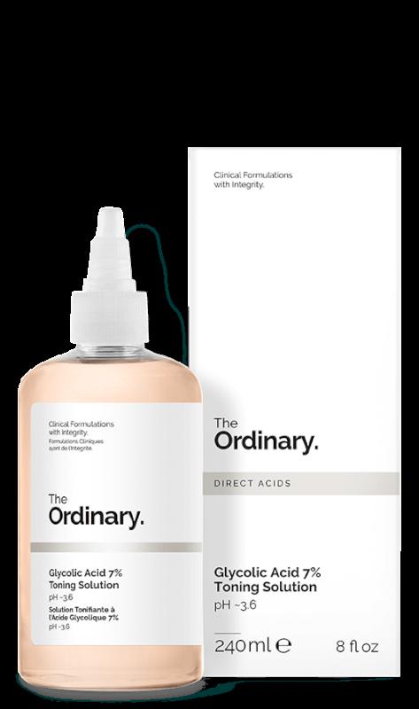 The ordinary- Glycolic Acid 7% Toning Solution 240ml