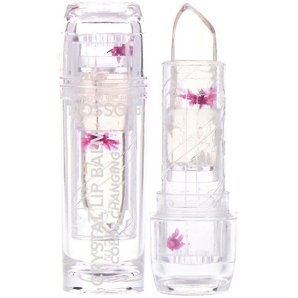 BLOSSOM COLOR-CHANGING CRYSTAL LIP BALM (PINK)