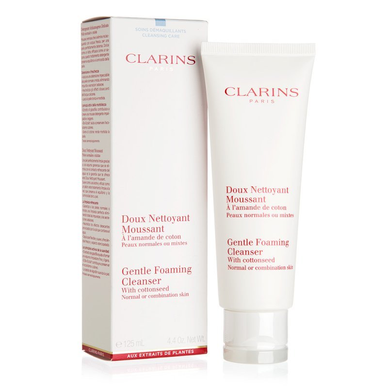 Clarins- Gentle Foaming Cleanser with Cottonseed 125ml