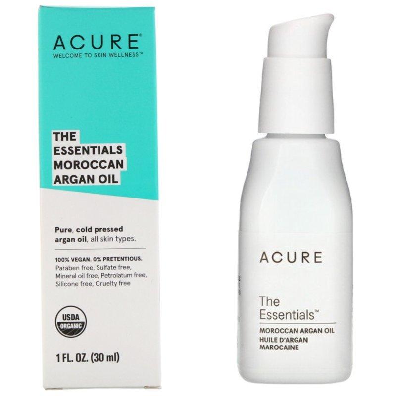 Acure, The Essentials Moroccan Argan Oil 30 ml