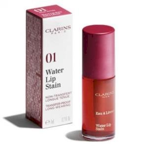 Clarins-Water Lip Stain ( 01 rose water)