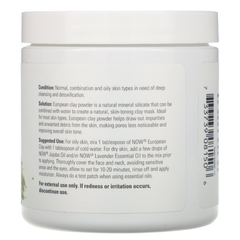 Now solution-Solutions, European Clay Powder (170 g)
