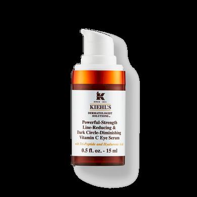 Kiehls Powerful-Strength Line-Reducing & Dark Circle-Diminishing Vitamin C Eye Serum 15ml