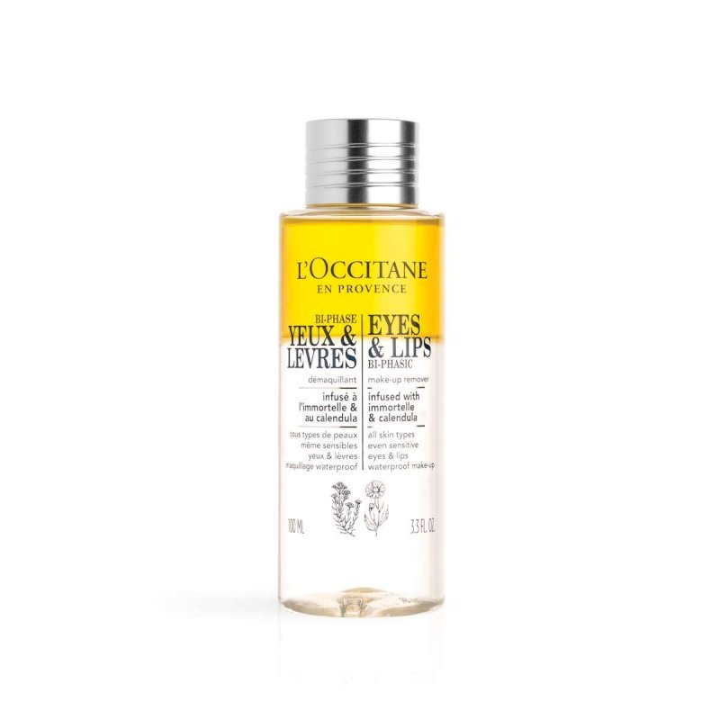 Loccitane-Eyes & Lips Bi-Phasic Make-Up 100ml