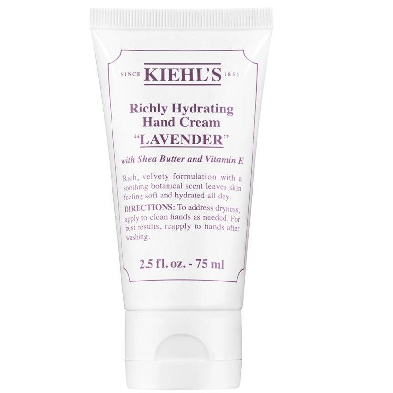 Kiehls-Richly Hydrating Scented Hand Cream (lavender)75ml