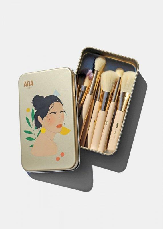 AOA Petite Brush Set + Keepsake Tin