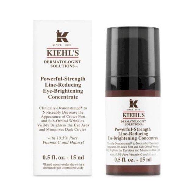 kiehls -powerfull strength line reducig eyebrightening concentrate 15 ml