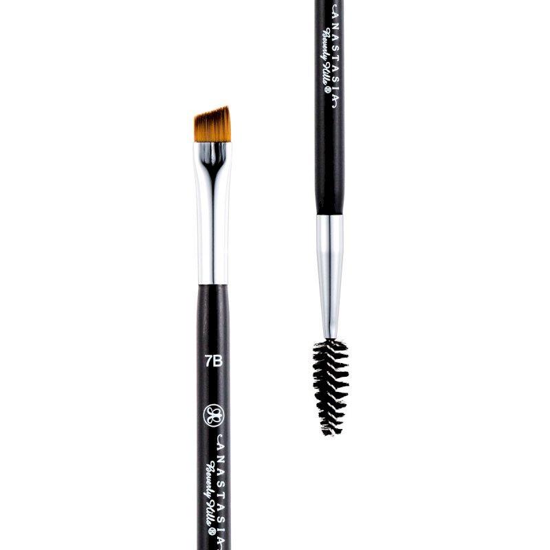 Anastasia Brush 7B – Dual-Ended Angled Brush