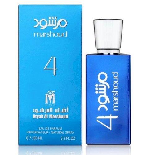 Atyab al marshoud-Marshoud 4 blue perfume