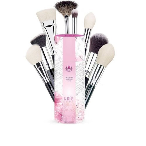 Lef cosmetics- face brush set