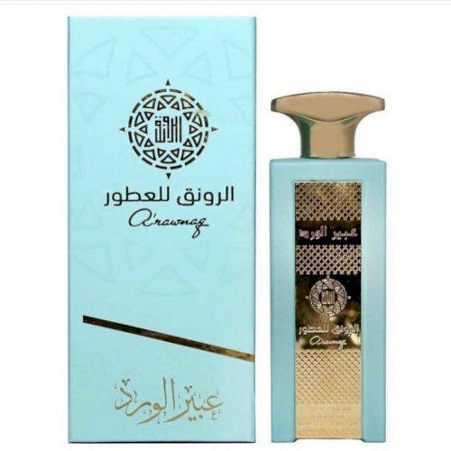Alrawnaq-abeer al ward perfume 80ml unisex