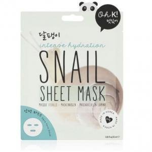 oh k-snail face sheet mask 25ml