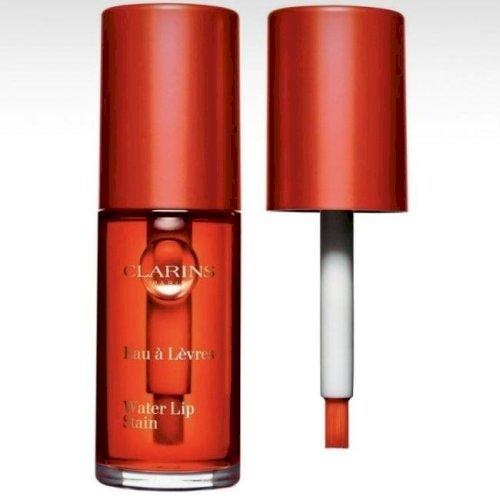Clarins-Water Lip Stain (02 orange water)
