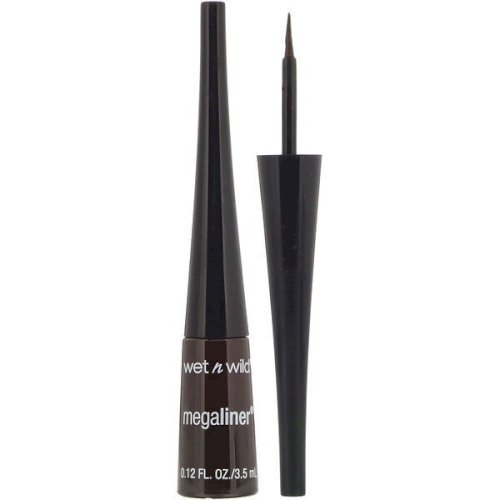 Wet n wild MegaLiner Liquid Eyeliner  (Dark Brown)