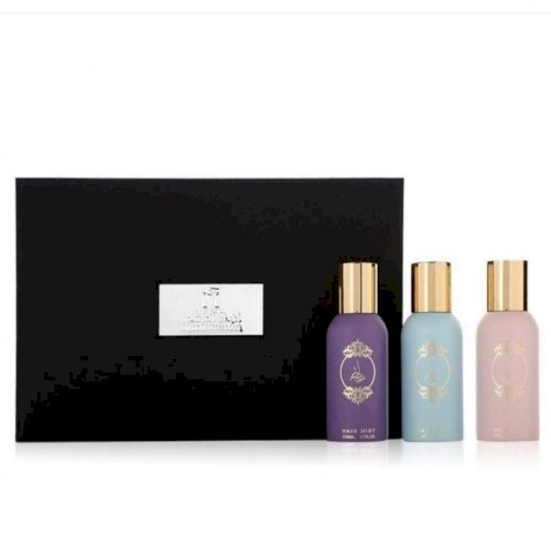 Atyab almarshoud-collection mini kislah hair mist(3 piece)3*50ml