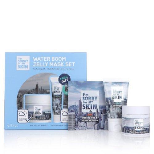 Ultru Water Boom Jelly Mask Set - 3 Pcs