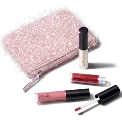 Mac- fireworked like a charm mini lipglass kit (pink)