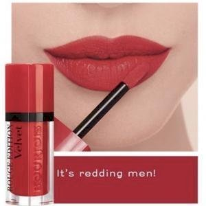 bourjois- Rouge Edition Velvet Matte Lipstick (18 its redding men)