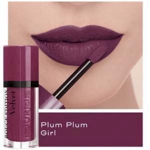 bourjois- Rouge Edition Velvet Matte Lipstick (14 plum plum girl)