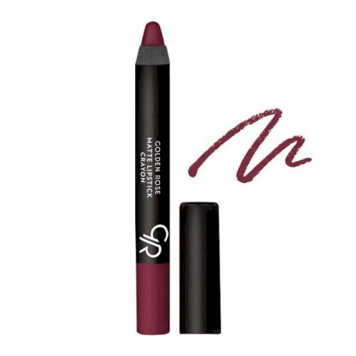Golden rose- Matte lipstick crayon 19