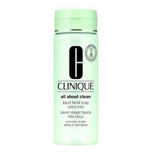 Clinique-Liquid Facial Soap extra mild (dry to very dry 200ml)