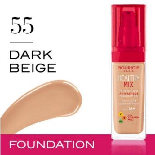 Bourjois HEALTHY MIX foundation (55 dark biege)