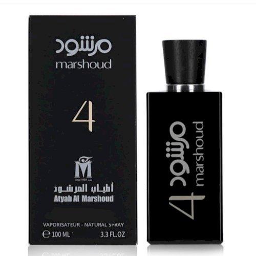 Atyab al marshoud-MARSHOUD 4 BLACK Perfume