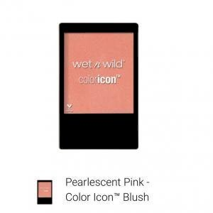 "wet n wild -coloricon blush ""pearlescent pink"""