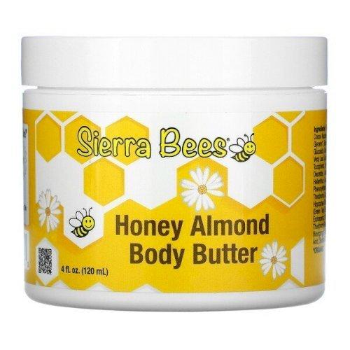 Sierra Bees, Honey Almond Body Butte120 ml