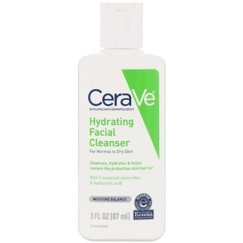 Cerave-Hydrating Facial Cleanser, For Normal to Dry Skin (87 ml)