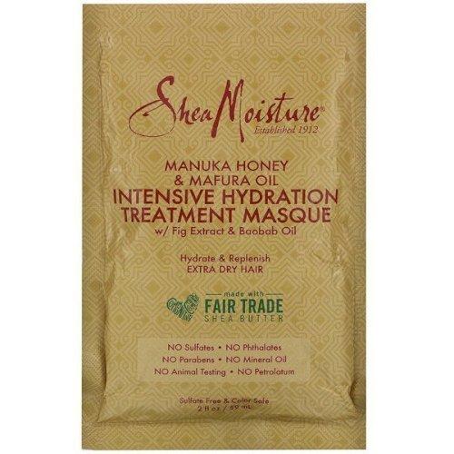 Shea Moisture, Manuka Honey & Mafura Oil Intensive Hydration Treatment hair Masque 59ml