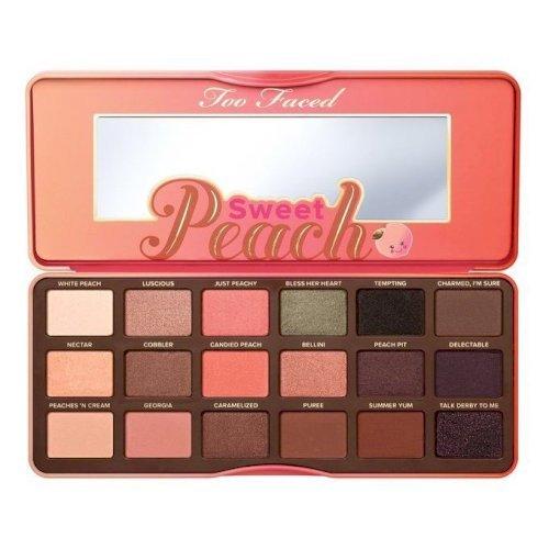 Too faced-Sweet Peach Eyeshadow Palette