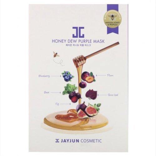 Jayjun-Honey Dew Purple Mask, 5 Sheets