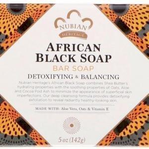 "nubian heritage- African black soap""142g"""