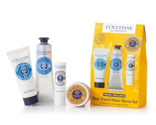 Loccitane shea travel must have kit
