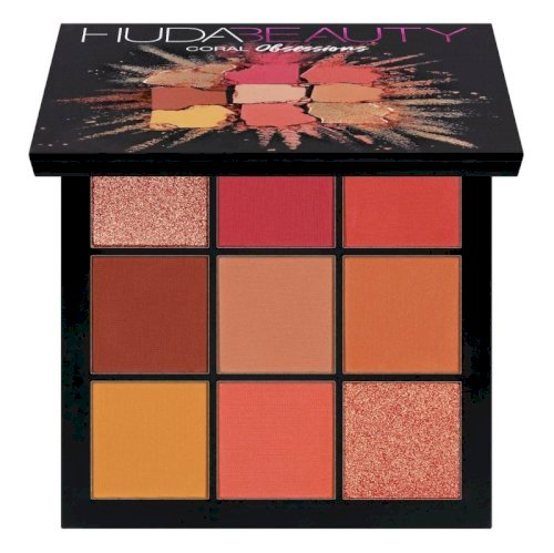 Huda beauty- Obsessions Eyeshadow Palette (coral)