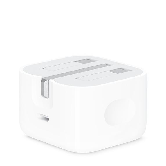 شاحن جداري USB-C بقوة 20 وات من شركة ابل