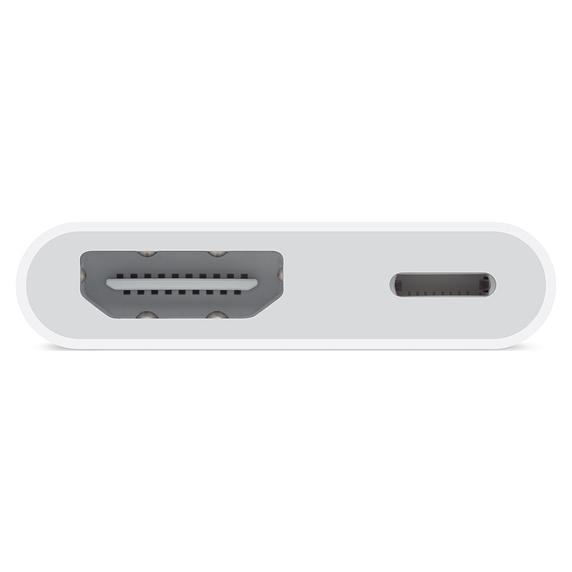 وصلة محول الصوت والفيديو الرقمي من لايتنينج  إلى HDMI من شركة أبل